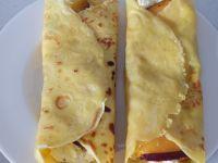 Naleśniki na słodko z serem i nektaryną