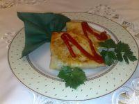 Naleśniki z pieczarkami i serem