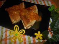 Naleśniki z ricottą i pomarańczami
