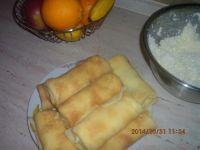 Naleśniki z serem i nutą pomarańczy