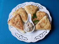 Naleśniki z ziemniakami serem i soczewicą