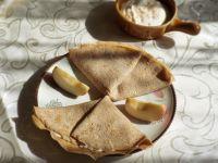 Naleśniki żytnie z twarożkiem jabłkowym