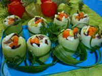 Nietypowe sushi - Przystawka jest niezwykle efektowna i pięknie się prezentuje