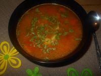 Ogórkowa z pomidorami