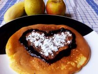 Omlet w wersji walentynkowej