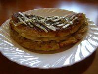 Omlet z płatkami kukurydzianymi