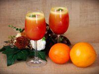 Owocowy sok z miętą