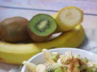 Owsianka z kiwi i bananem