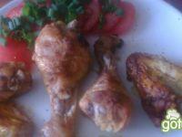 pałki i skrzydełka z kurczaka grillowane