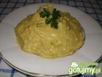 Pasta z groszku zielonego