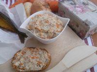 Pasta z wędzonej makreli i warzyw