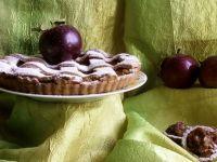 Pełnoziarnista tarta z jabłkami