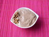 Pianka kakaowa z orzechami