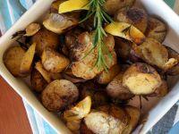Pieczone cytrynowe ziemniaki