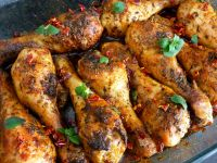 Pieczone pałki z kurczaka