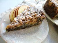Piegus z jabłkami i cynamonową kruszonką