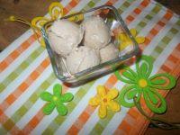 Piernikowe lody z kaszą manną