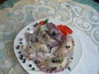 Pierogi z jagodami