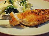 Pierś z kurczaka panierowana kalafiorem