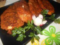 Pierś z kurczaka panierowana w płatkach