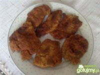 Pierś z kurczaka w panierce wg Megg
