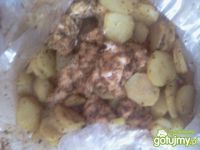Piersi z kurczaka pieczone z ziemniakami