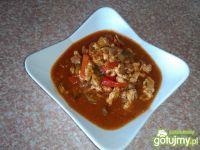 Pikantna potrawka z mięsem mielonym