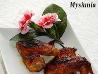 Pikantno - słodkie skrzydełka z kurczaka