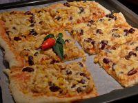 Pizza meksykańska z kurczakiem