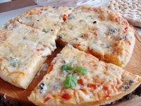 Pizza trzy sery