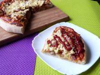 Pizza z boczniakami
