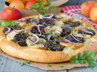 Pizza z kaszanką