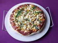 Pizza z mięsem o smaku gyrosa