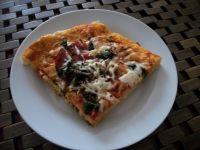 Pizza z szynką i kozim serem wg zub3r'a