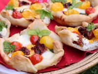 Pizzerinki z kwiatami dyni