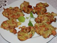 Placuszki kurkowo-brokułowe