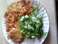 Placuszki ziemniaczane z marchewką