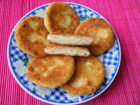 Placuszki ziemniaczano-serowe