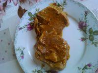 Polędwica w sosie z pieczarkami