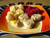 Polędwiczki wieprzowe z serem camembert