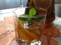 Pomarańczowo-miętowa Ice Tea