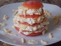 Pomidorowa wieżyczka