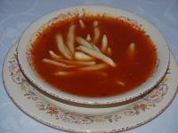 Pomidorowa z trzema rodzajami pomidorów