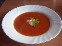 Pomidorowa ze świeżych pomidorów