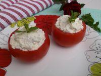 Pomidory nadziewane miętowym twarożkiem