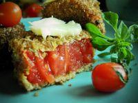 Pomidory w otrębowej panierce
