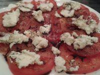 Pomidory z serem manouri