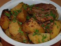 Pomysłowa karkówka z ziemniakami