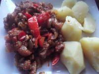 Potrawka z karkówki z ziemniakami