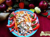 Potrawka z ryżu i warzyw z pasternakiem